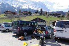 Posledné prípravy v Grindelvalde